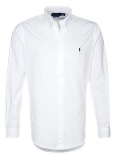 Polo Ralph Lauren SLIM FIT Hemd white Premium bei Zalando.de   Material Oberstoff: 98% Baumwolle, 2% Elasthan   Premium jetzt versandkostenfrei bei Zalando.de bestellen!