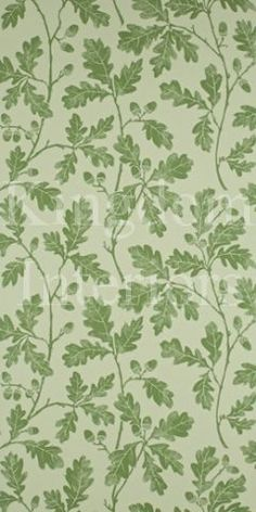 Sanderson 'Oakwood' wallpaper for a water closet perhaps?