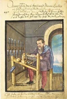 Fabricant d'outils pour tailleur de bois ou de pierre