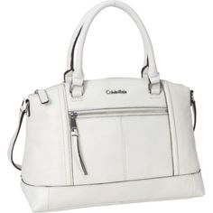 Calvin Klein Cabo Leather Satchel $171.99