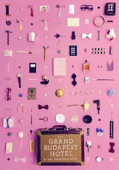 grand budapest hotel themed print via jordan bolton design on etsy. / sfgirlbybay