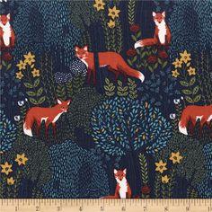 Lewis et Irene pays Créatures Woodland Animal 100/% Coton Patchwork Tissu