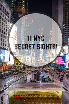 11 New York hidden gems for when you've seen it all before!   RePinned by : www.powercouplelife.com