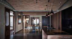 Blog Design, Studio Design, Design Design, Interior Design Studio, Apartment Interior Design, Architecture Design, Asian Architecture, Family Apartment, Open Plan Living