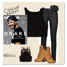 """""""casual friday"""" by cristinaluna ❤ liked on Polyvore featuring Polo Ralph Lauren, Billabong, Drakes London, Burberry, Timberland, DRAKE, views and 60secondstyle"""