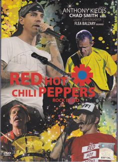 RED HOT CHILI PEPPERS Rock In Rio Live DVD NEW Region All Anthony Kiedis