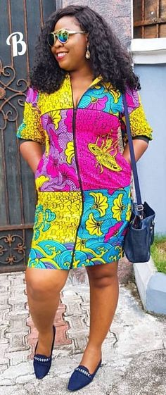 The complete pictures of latest ankara short gown styles of 2018 you've been searching for. These short ankara gown styles of 2018 are beautiful Latest Ankara Short Gown, Ankara Short Gown Styles, Short Gowns, Ankara Gowns, Latest African Fashion Dresses, African Print Dresses, Ankara Dress, African Print Fashion, African Dress