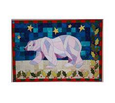 BJ Designs & Patterns Holly Bear Applique Quilt Pattern