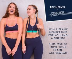 Win Frame Membership For You And A Friend!