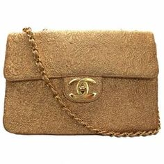 vintage Chanel brocade bag
