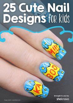 Cute nail designs for kids