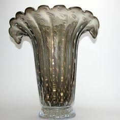 Murano Glass Flared Vase