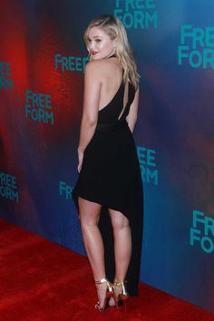 Olivia Holt at the 2017 Freeform Upfront, New York City (2017)