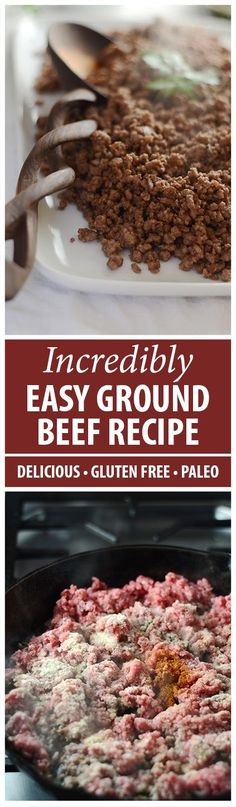 Simple and flavorful, this seasoned ground beef recipe will kick up your tacos, nachos, stuffed peppers, bolognese sauce- the sky is the limit! Come get it!