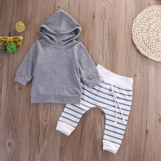 /set Newborn Toddler Baby Boy Girl Outfits Little boy Hooded Pullover + Pants Kids boy clothing Sets Baby Boys, Baby Boy Newborn, Toddler Girls, Ensembles Outfit, Outfit Sets, Newborn Outfits, Baby Boy Outfits, Kids Outfits, Spring Outfits