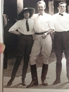 Coco, Léon de Laborde and Étienne Balsan. He was much more handsome in real life than they portray him in the movie.