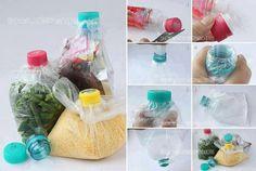 Idealna opcja gdy w domu zalegają jednorazówki ze sklepów i butelki.