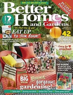 Bhgaus 2017 February Magazines Covers Diy Home Style