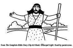 John the Baptist Match Game from www.daniellesplace.com