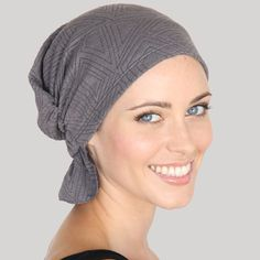 ELAINE | Chemo Beanies® to add to your chemo survival care package.