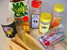 Real Tamales   Spices and Seasonings:  1/2 c corn oil  6 Tablespoon Gibhartds chili powder (Other Chile Powders will work)  3 Tablespoon garlic powder  3 Tablespoon ground cumin (comino)  1 Tablespoon (or less) black pepper  2 Tablespoon salt.