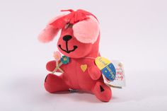 Dakin Dream Pets Pink Dog with Tag - Cute Plush Animal  Pink Room  161104 by ThePinkRoom