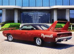 ◆1970 Plymouth Superbird - Deep Burnt Orange Metallic◆..Re-pin...Brought to you by #CarInsurance at #HouseofInsurance in Eugene, Oregon