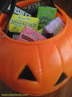 List of Gluten free Halloween candy!!