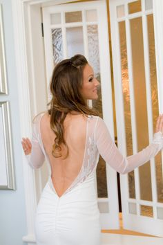 Our lovely bride Claudia in the stunning Katie May Verona gown