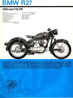 All about the BMW motorcycle: history, photos, specifications, and links. Motos Bmw, Bmw Motorcycles, Vintage Motorcycles, Street Tracker, Triumph Bonneville, Ford Gt, Audi Tt, Honda Cb, Bmw E46