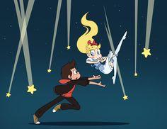 A falling star << This is so cute! <3