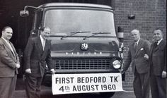 First Bedford TK from William Mckenzie Antique Trucks, Vintage Trucks, Classic Trucks, Classic Cars, Vauxhall Motors, Bedford Truck, Old Lorries, Old Wagons, Van Car
