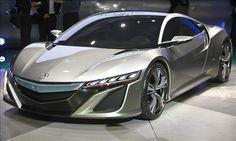 Acura NSX Concept - next three years hmm!