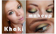Макияж глаз: цвета хаки
