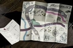 DIY Maps (the one on the left was provided by my venue, but I made the one on the right on Adobe Illustrator)