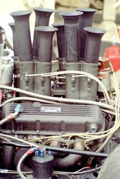 """findingtheapex: """"UOP Shadow MK II and MKIII . All original engine photos from the Shadow shop. Courtesy of Doug Meyer (Shadow Team engine builder) """""""