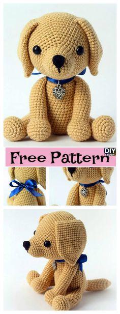 diy4ever Crochet Lucky Puppy Free Pattern #freepattern
