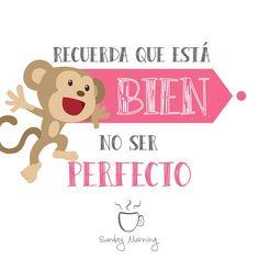 Se trata de ser feliz, no ser perfecto :D  #SMorningShop #Frasedeldia #Feliz #Felicidad #Motivacion #Recuerda #Inspiracion #Positivo
