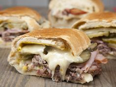 Sheet Pan Cuban Sandwiches Recipe | MyRecipes