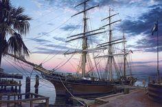 Cavalier Of The Sea, Charleston, SC. John Paul Strain