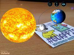 El Sistema Solar en Realidad Aumentada con Arloon Solar System - PROYECTO #GUAPPIS