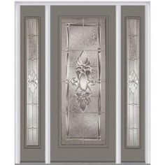 Western Reflections door glass design Wyngate from the wrought   Find this Pin and more on doors . Decorative Front Doors. Home Design Ideas