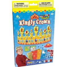 Orb Factory Sticky Mosaics Kingly Crown