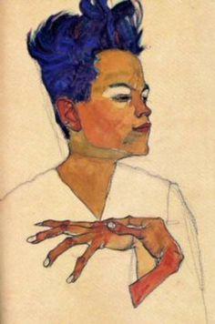 Egon Schiele et son incroyable travail sur les mains.