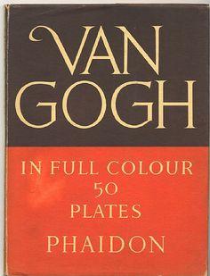 Van Gogh in full colour. 1951 Phaidon press. 50 tavole a colori e introduzione in lingua inglese. 23x30,5 cm, copertina rigida.