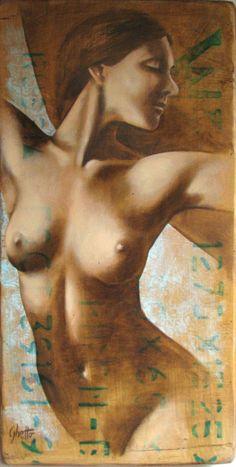 Women in art Lucia Coghetto Figure Painting, Figure Drawing, Painting & Drawing, Italian Painters, Sketch Inspiration, Human Art, Beauty Art, Art Plastique, Love And Light