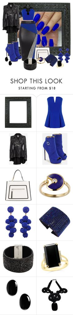 """""""Untitled #3195"""" by quitabaity ❤ liked on Polyvore featuring City Chic, Alexander McQueen, JustFab, Fendi, Lazuli, Humble Chic, Swarovski, Design Lab, Bloomingdale's and Sophie Buhai"""