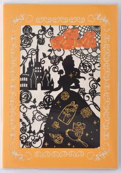 Amazon.co.jp: デルフィーノ 2016年手帳 Disney 美女と野獣 切り絵 【2015年12月始まり】 イエロー B6サイズ DZ-76948: Office Products