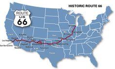 Icône des Etats-Unis, la Route 66 fait partie de l'Histoire américaine.