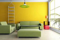 Popular Color Schemes and Period Color Combinations Popular Color Schemes, Popular Colors, Home Interior Design, Interior Decorating, Decorating Ideas, Wall Color Combination, Colourful Living Room, Sofa Colors, Green Furniture
